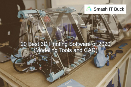 Best 3D Printing Softwares for Business use Infographic