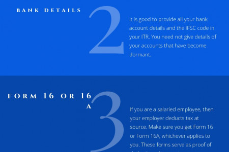 Best 5 Ways To File Income Tax Return  Infographic