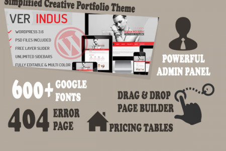 Best 5 WordPress Portfolio Themes Infographic