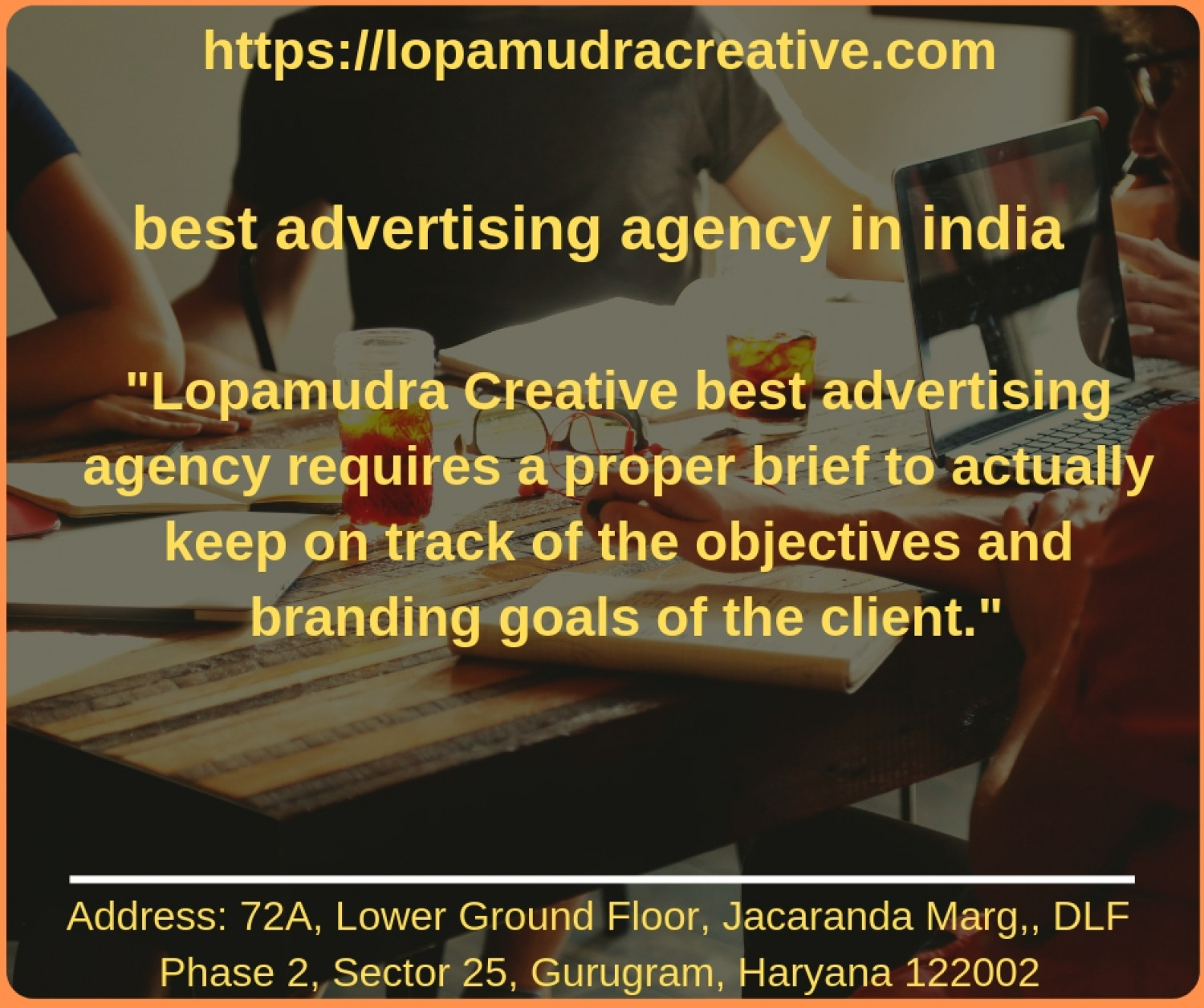 best advertising agency in India Infographic