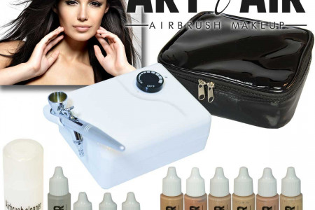 Best Airbrush Makeup Kit Infographic