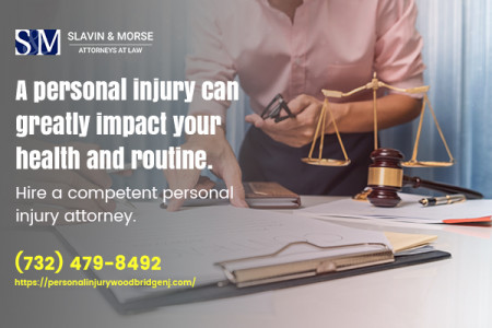 Best and Expert personal injury attorney in Woodbridge, NJ Infographic