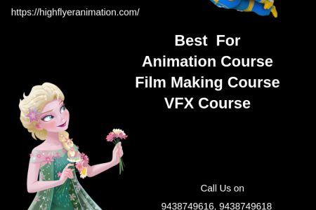 Best animation institute in Bhubaneswar Infographic