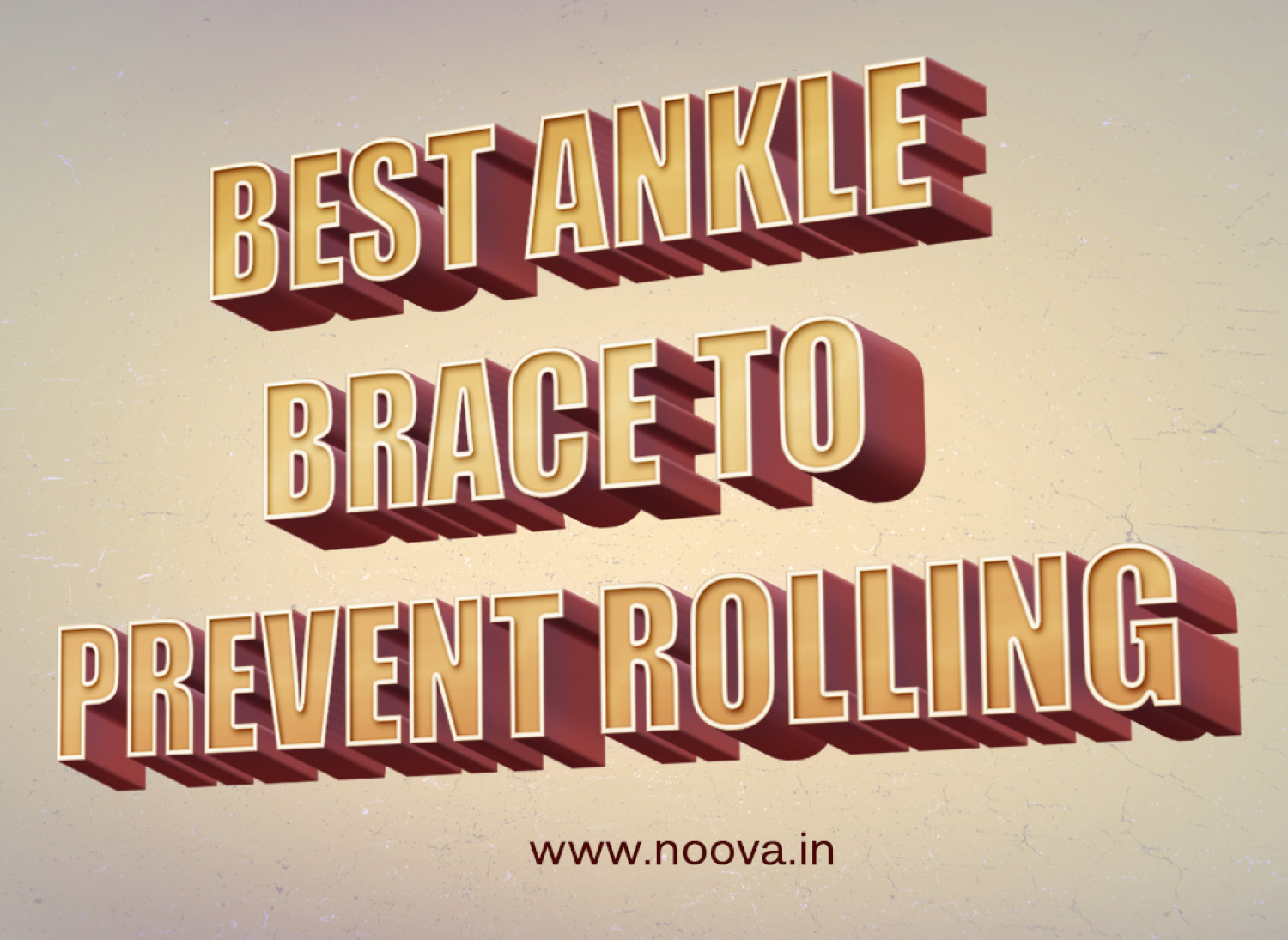 Best Ankle Brace To Prevent Rolling Infographic