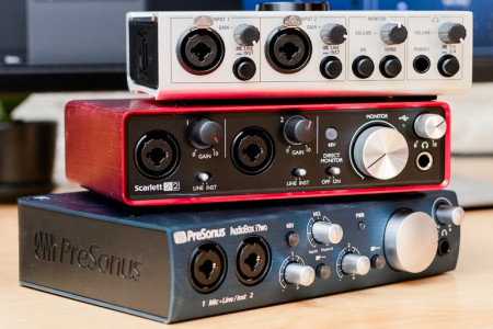 Best Audio Interface Infographic