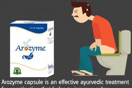 Best Ayurvedic Medicine for Constipation and Gas in India Infographic