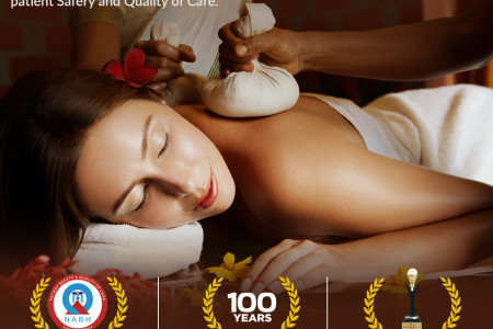 Best Ayurvedic treatment center in India Infographic