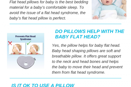 Best baby pillows for newborn babies of 2020 Infographic