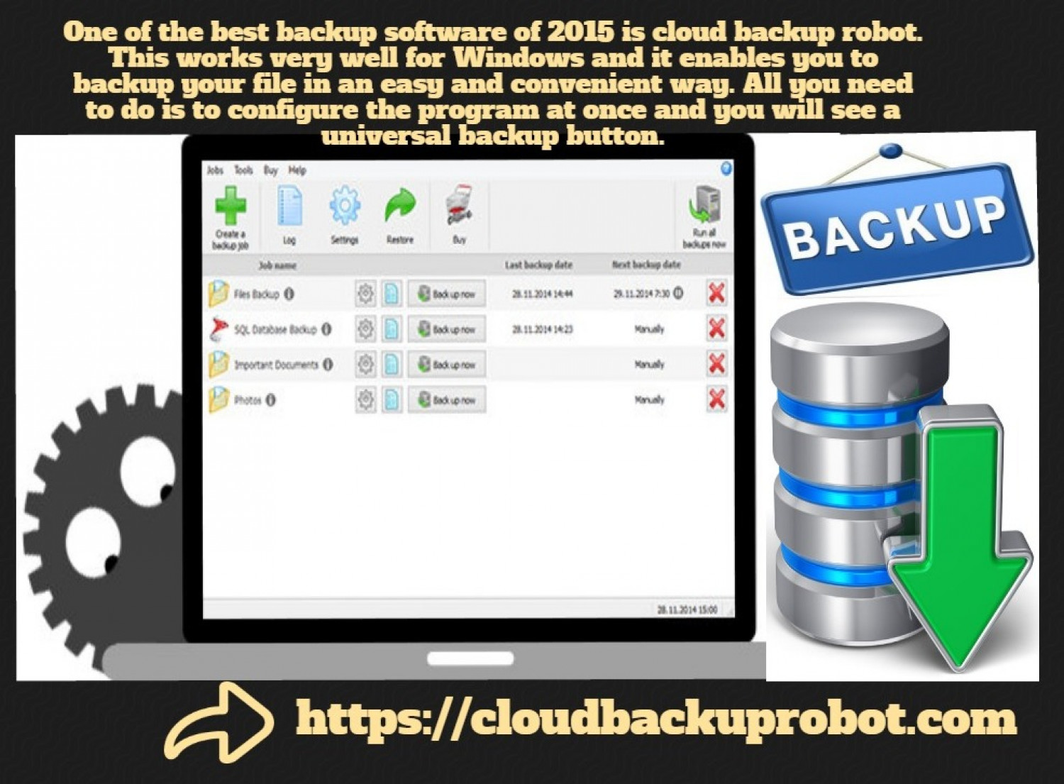 Best Backup Software of 2015 Is Recommended By Computer Specialists | Visual.ly