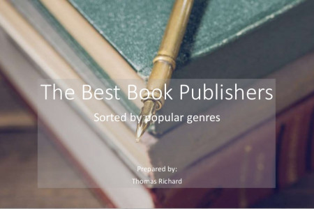 Best Book Publishing Companies Infographic