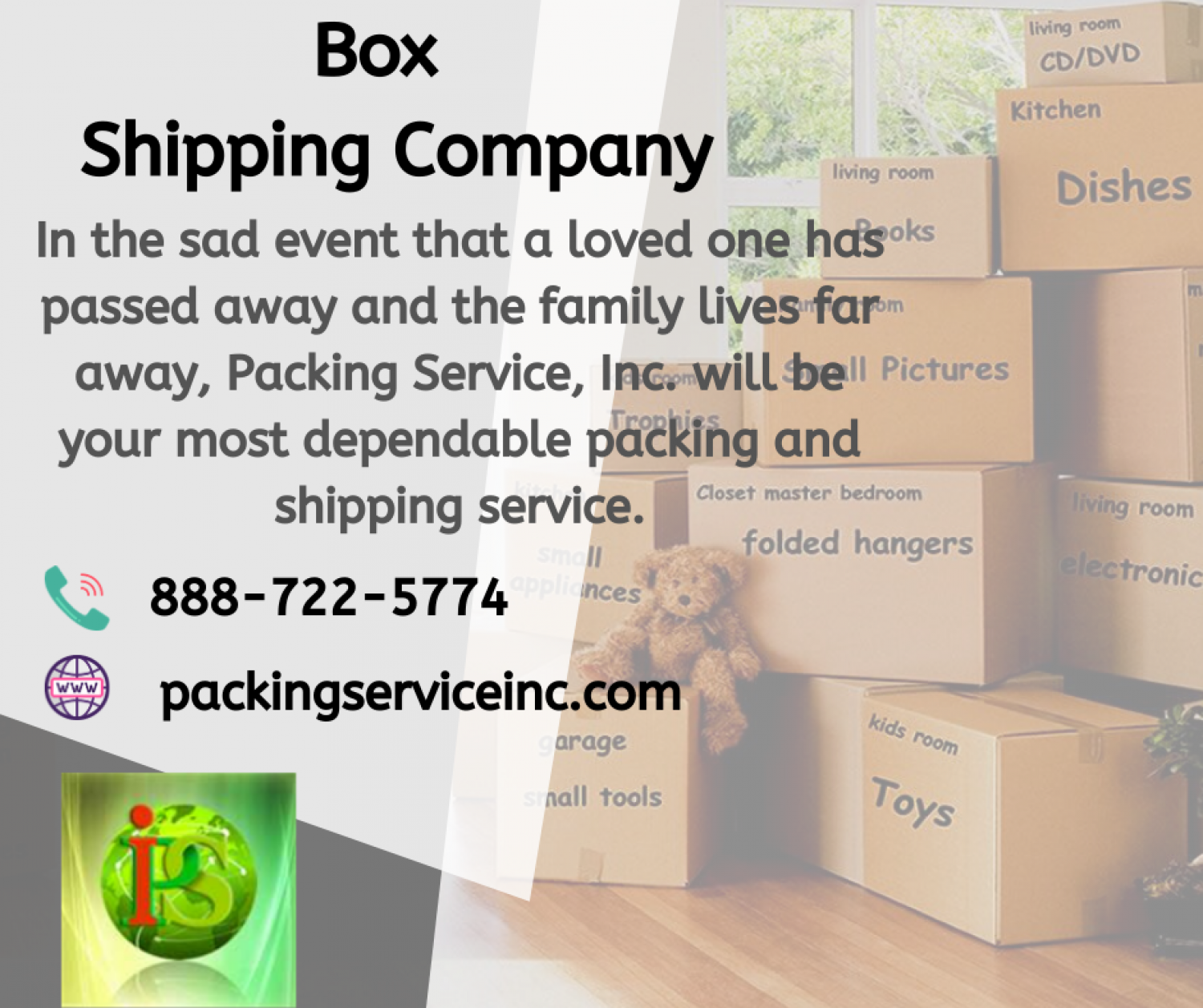 Best Box Shipping Company Infographic