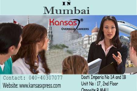 Best Canada Immigration Consultants in Mumbai - Kansas Overseas Careers Infographic