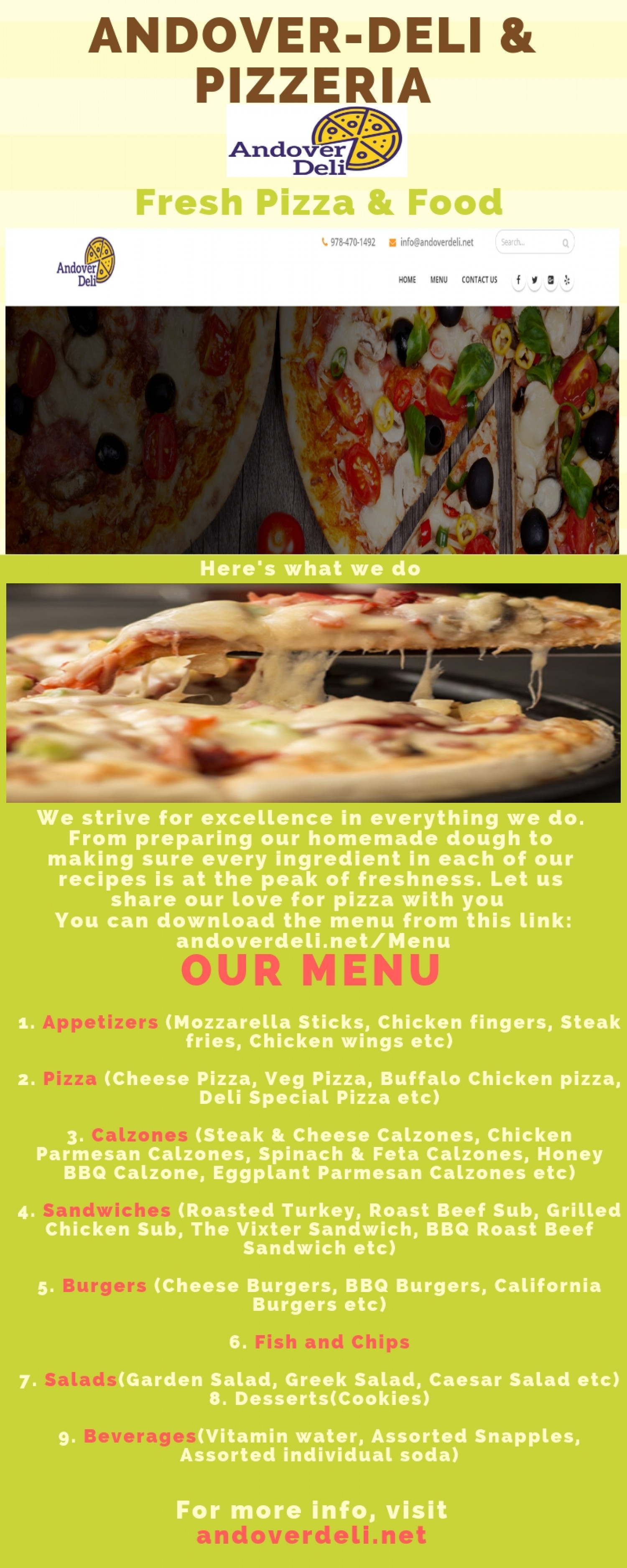 Best Catering near Andover, MA Infographic