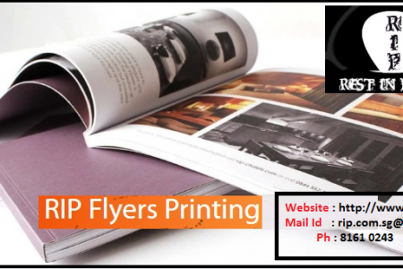 Best Cheap Flyer Printing services in Singapore Infographic