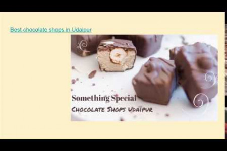 Best Chocolate Shops in Udaipur  Infographic