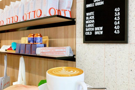 Best Coffee Place in Richmond | Otto Melbourne Infographic