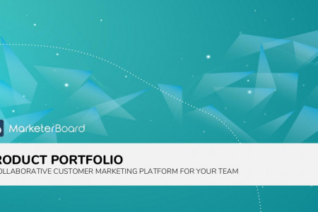 Best collaborative marketing platform for team collaboration - MarketerBoard Infographic