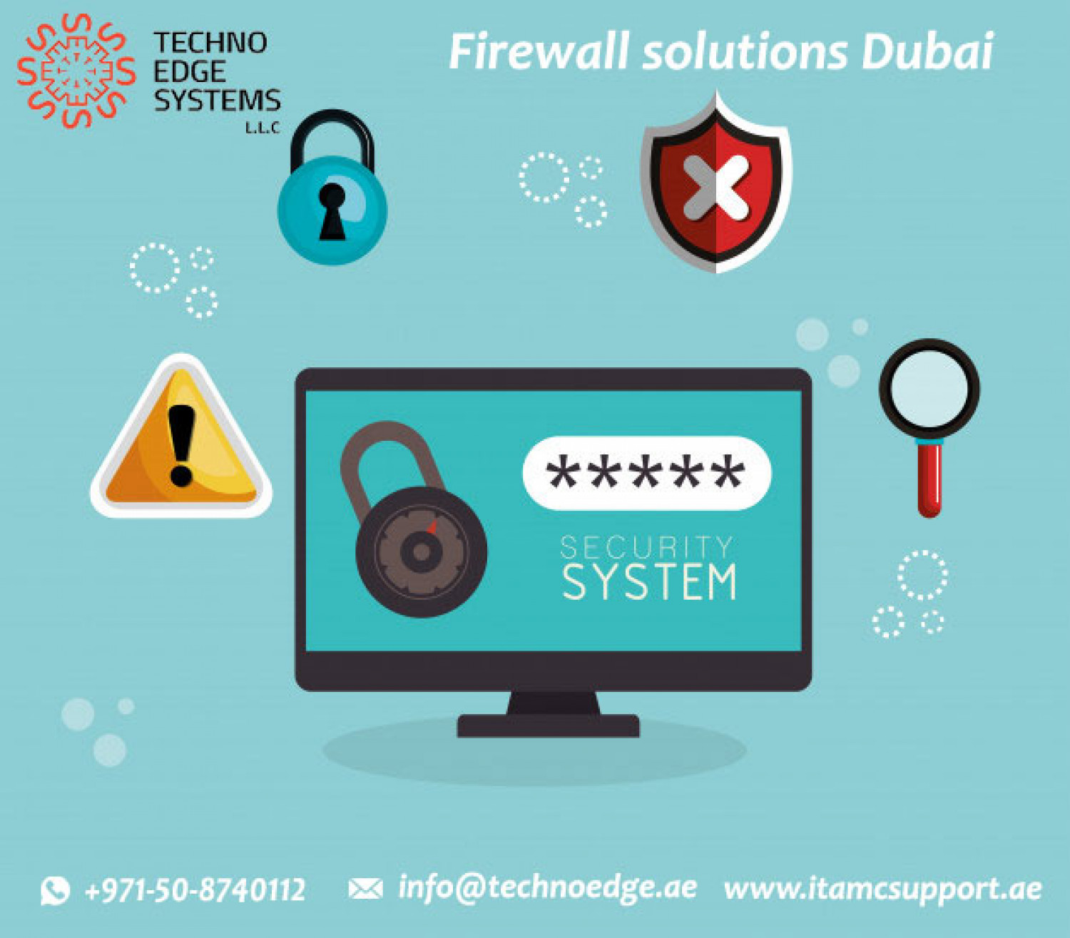 Best company for firewall solutions in dubai Infographic
