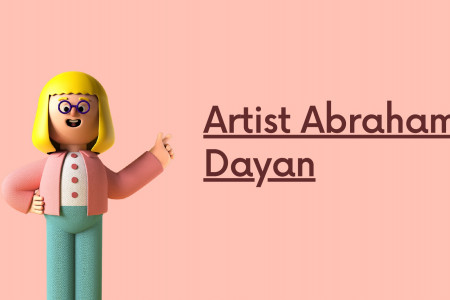 Best Contemporary Art Painting By Artist Abraham Dayan Infographic