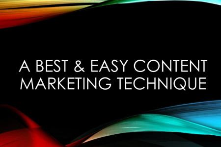Best Content Marketing Techniques in 2015 Infographic