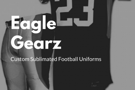 Best Custom Sublimated Football Uniforms Infographic