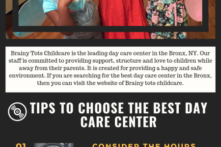 Best Day care Center in the Bronx NY Infographic