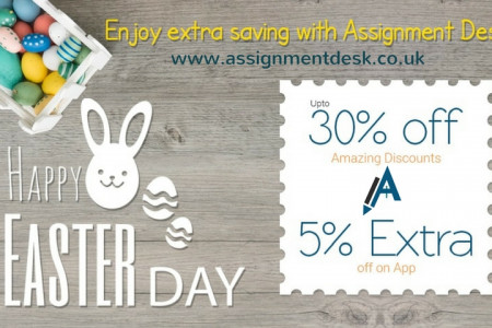 Best Easters Day offers at Assignment Desk Infographic