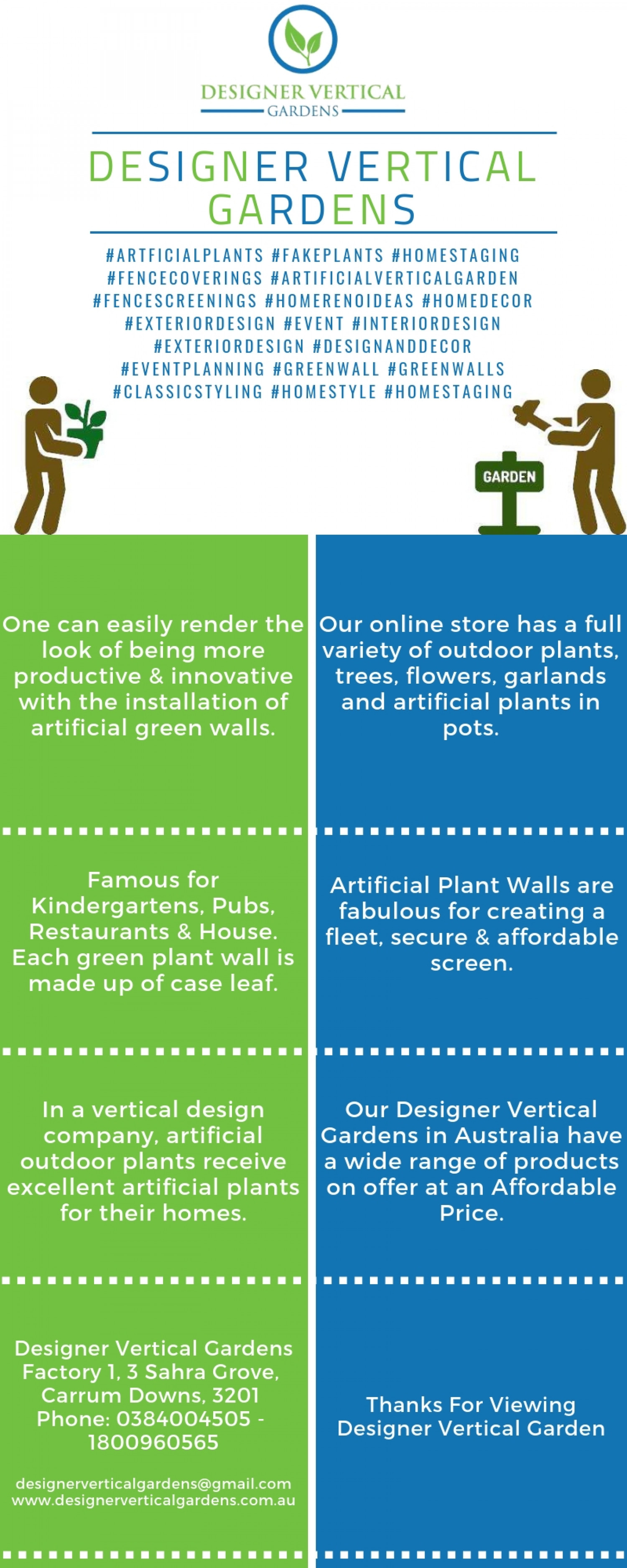 Best Ever Artificial Outdoor Plants in Sydney Infographic