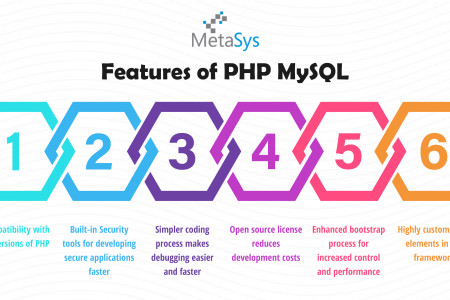 Best Features of PHP MySQL Infographic