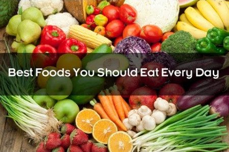 Best Foods You Should Eat Every Day Infographic