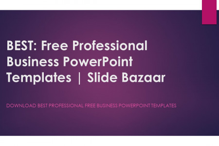 Best Free Business PowerPoint Templates Infographic
