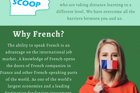 Best French Language Classes in Chandigarh - Language Scoop Infographic
