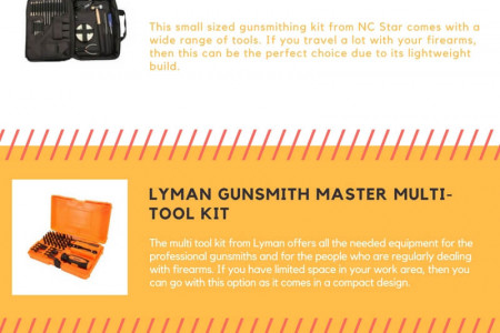 Best gunsmith tool kit and weaver deluxe gunsmith tool kit Infographic