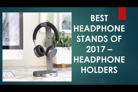 Best Headphone Holders of 2017 Infographic