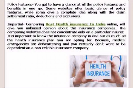 Best Health insurance In India Infographic