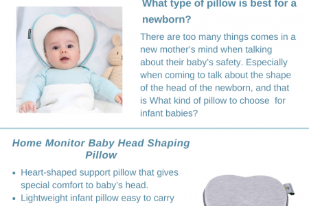 Best Heart Shape Pillow for Newborn Baby in 2020 Infographic