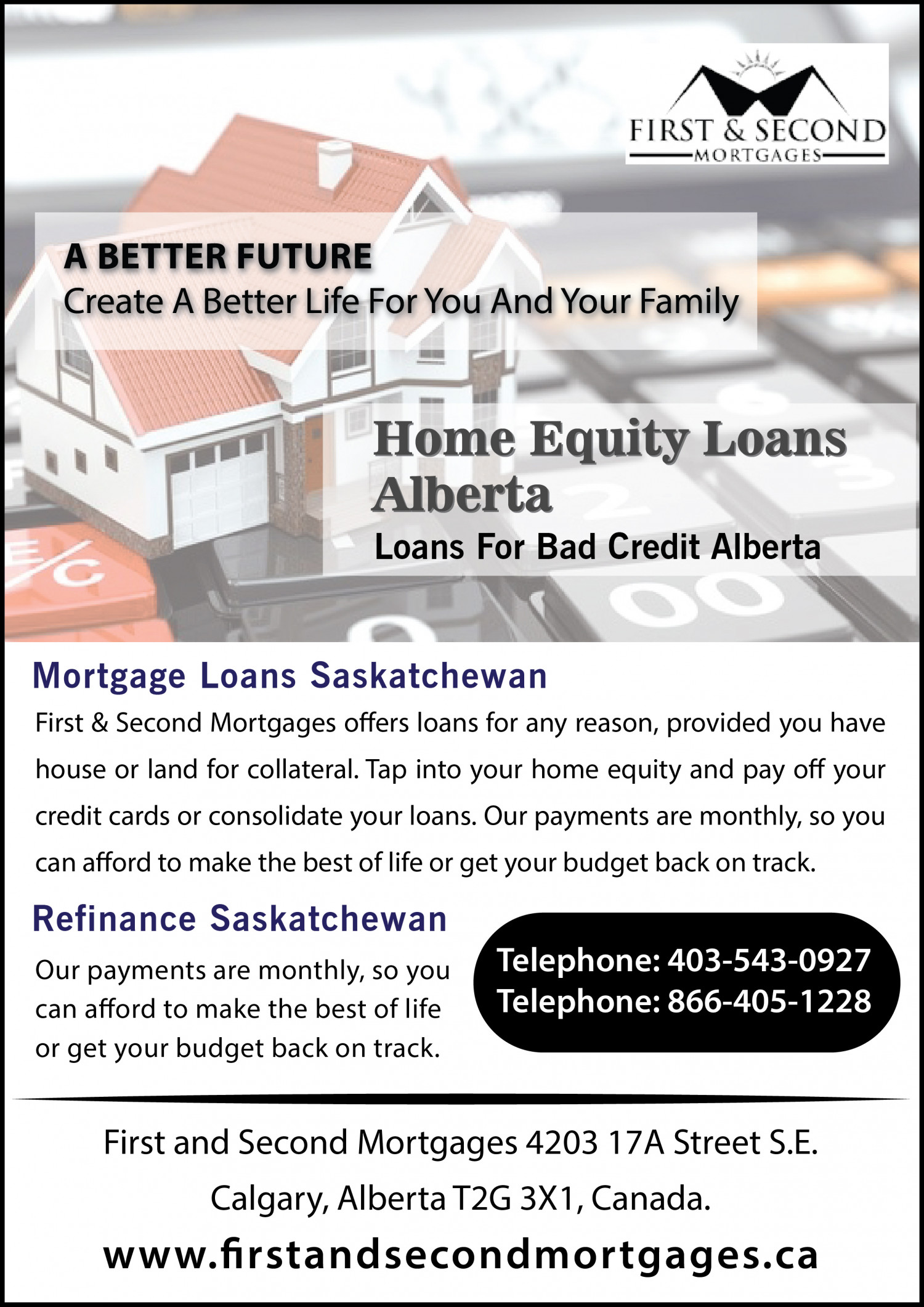 Best Home Equity Loan Rates Alberta Infographic