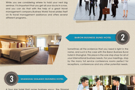 Best Hotels for Businessman in China Infographic
