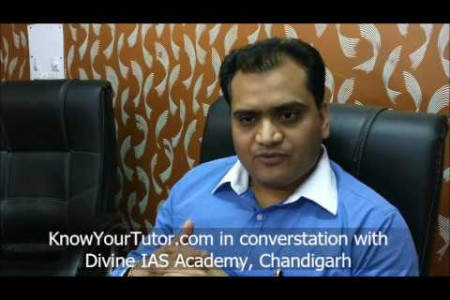 Best IAS Coaching in Chandigarh - Divine IAS Academy Infographic