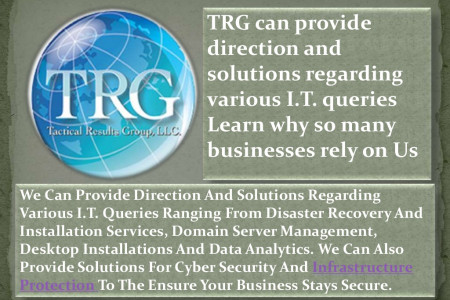 Best Information Technology Services in USA - TRG Infographic