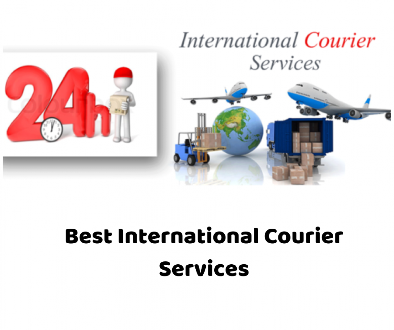 Best International Courier Services Worldwide Infographic