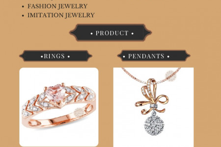 Best Jewelry Designs in Gold and Diamond. Infographic