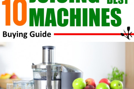 Best Juicing Machines Infographic