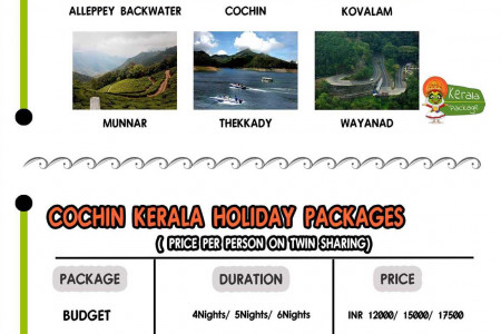 Best Kerala Tour Package from Kochi Infographic