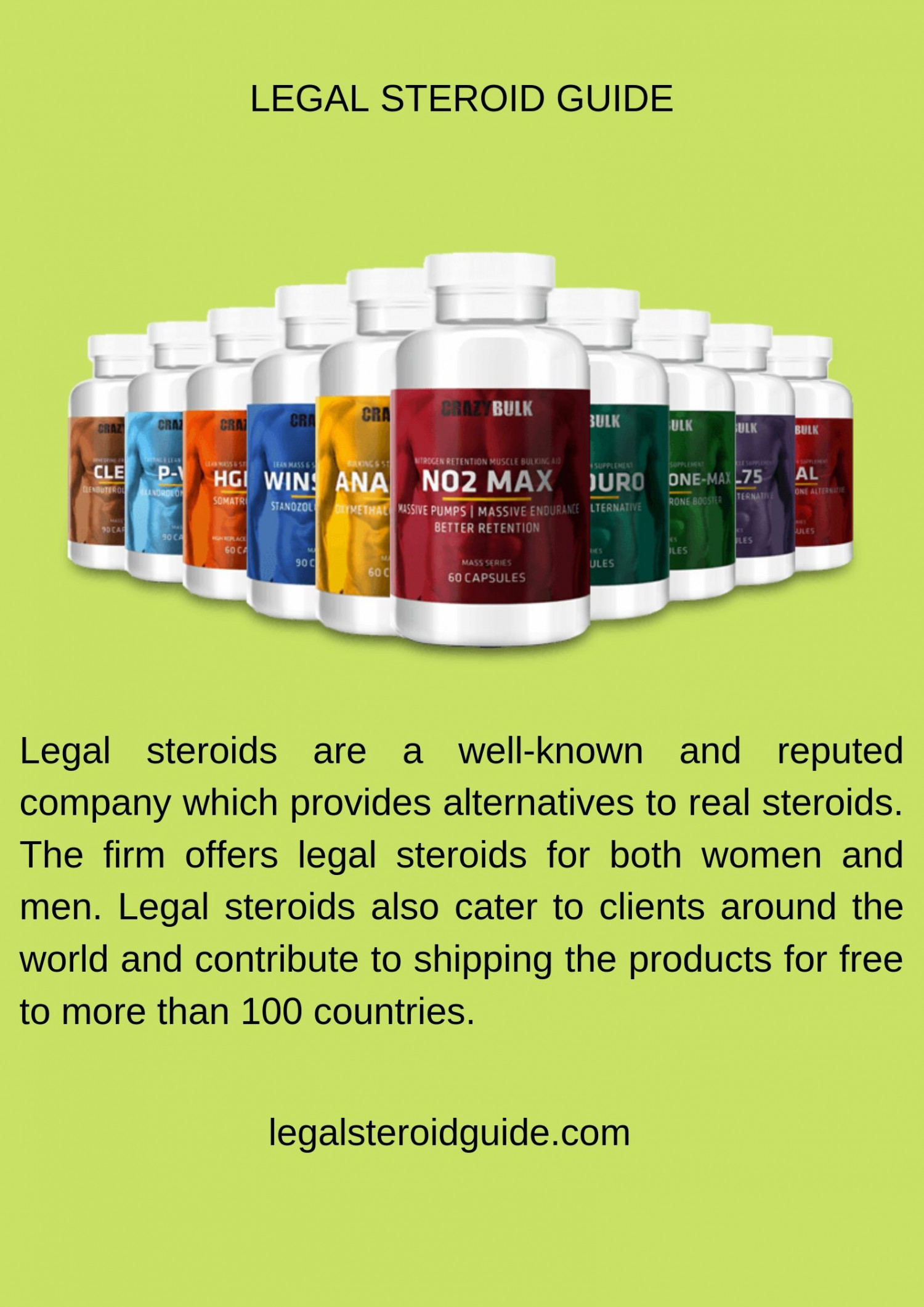 Best legal steroids Infographic