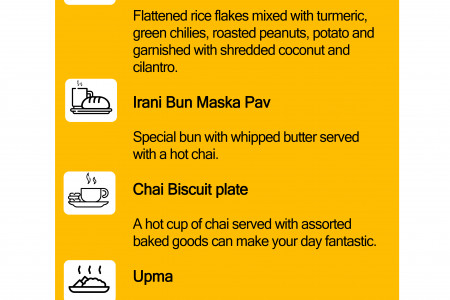 Best Maharashtrian Breakfast in Vancouver Infographic