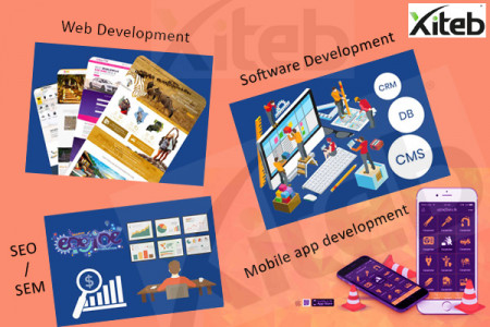 Best mobile app, Software, Web & SEO/SEM solution provider Infographic