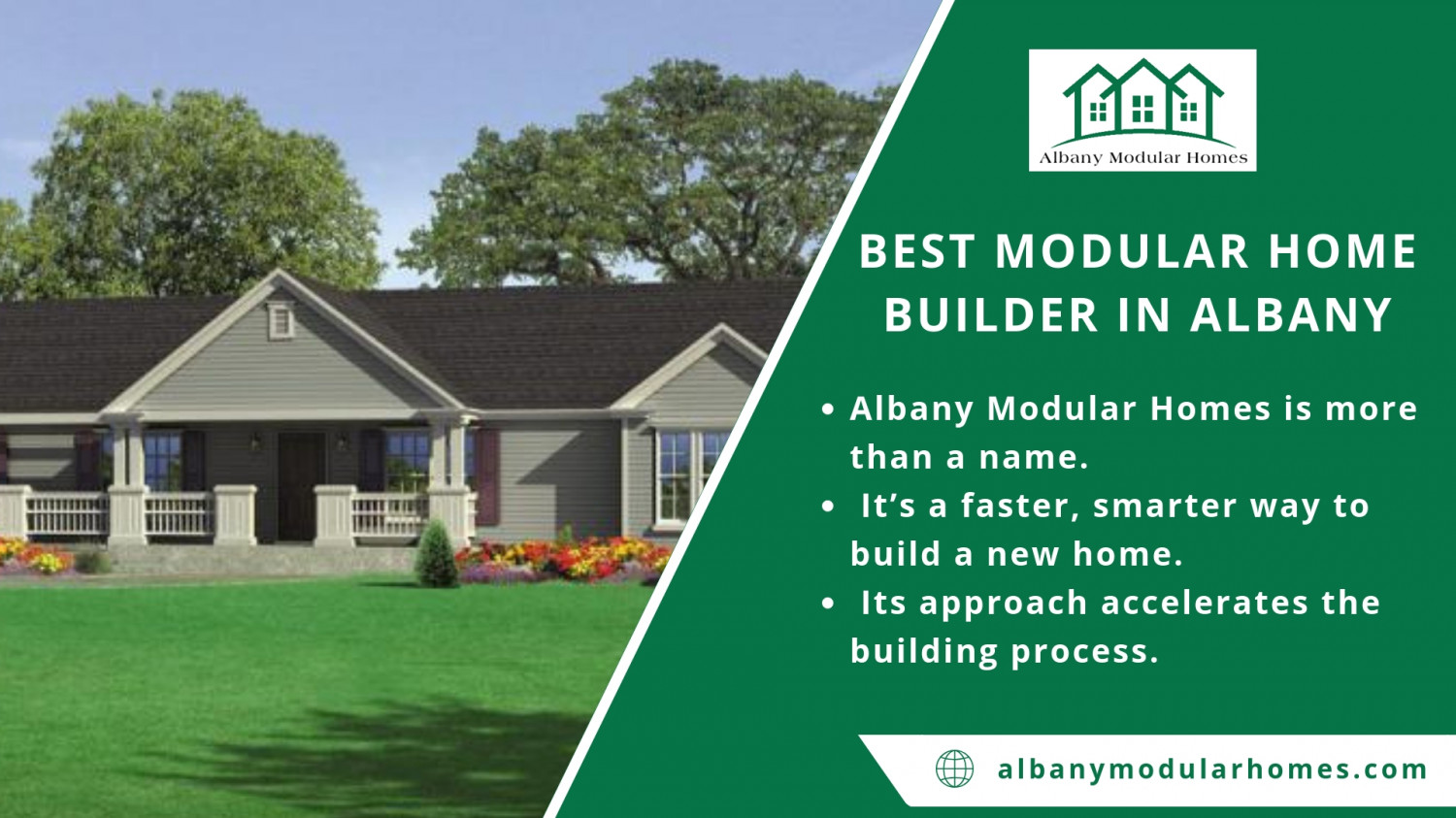 Best Modular Home Builder In Albany Infographic