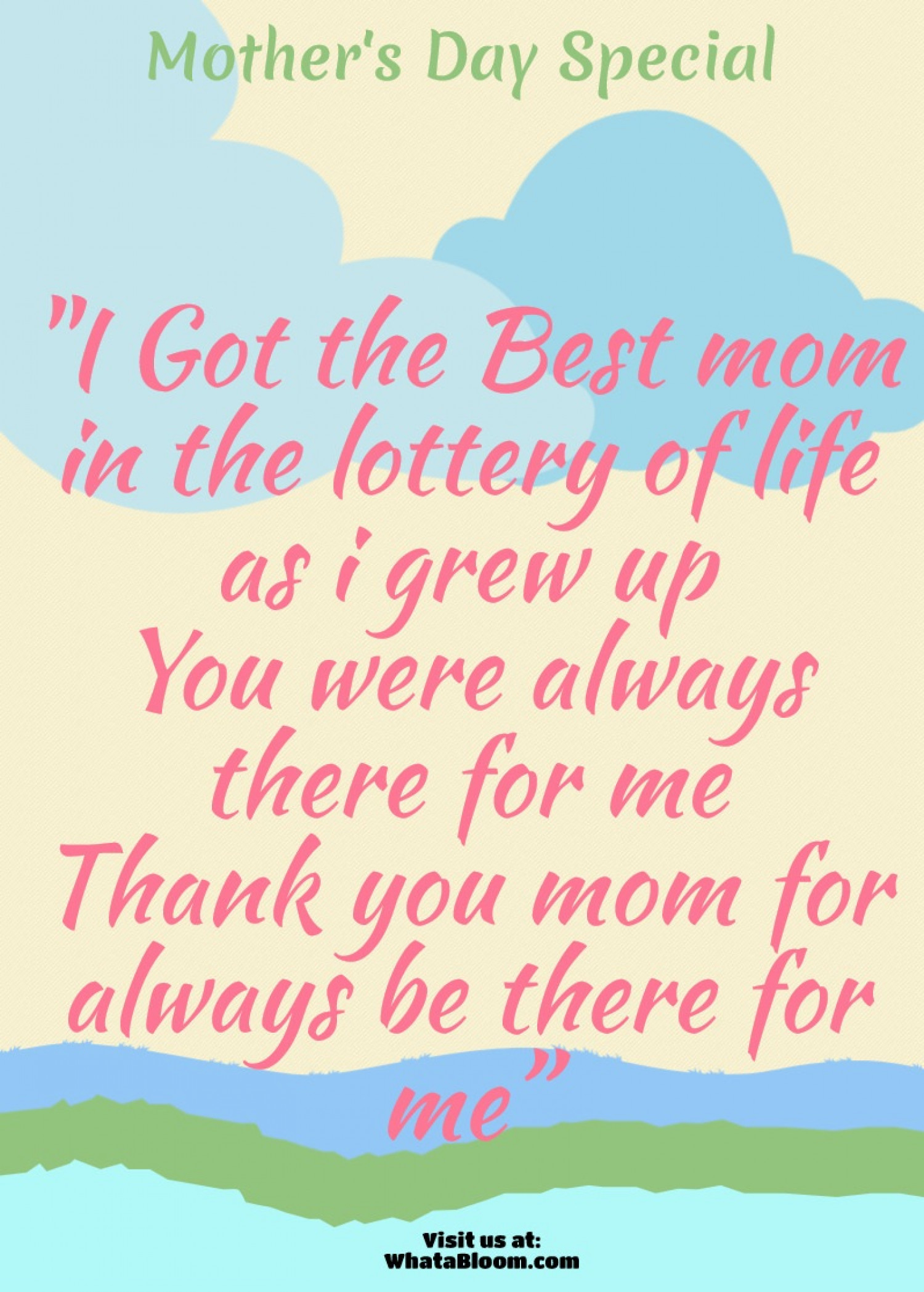Mothers Day Quotes Best Mother's Day Quote  Visual.ly