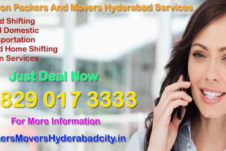 Best Moving Organizations @ Packers And Movers Hyderabad Associations Infographic
